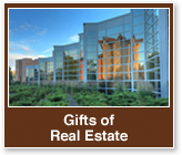 Rollover image of a campus building. Link to Gifts of Real Estate.