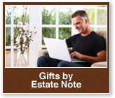 Gifts by Estate Note Rollover. Link to Gifts by Estate Note.